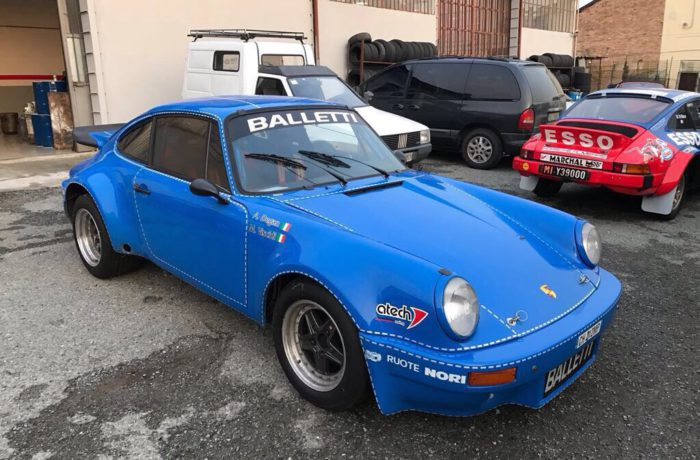 Porsche 911 RS Rally ex Riolo